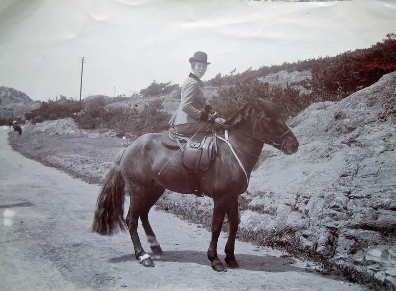 Peking um 1914: Mande Krebs hoch zu Pferde