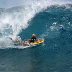 Bodyboarding. Auf Hawaii gibt es die größten Wellen der Welt, perfekt für Surfprofis