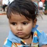 Inder lassen ihre Kinder gern von Ausländern fotografieren.