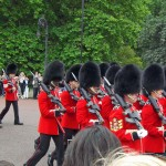 Changing of the Guards vor dem Buckingham Palace