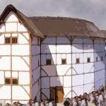 Globe Theatre. Aquarell