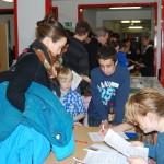 Am Tag der offenen Tür am 07. Januar 12 war der Besucherandrang groß, die Schule platzte zeitweise fast aus den Nähten.
