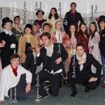 Wer ist wer auf der Zeitreise des Deutsch-Leistungskurses 13 zurück in die Romantik?