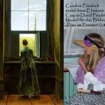 """Caroline Friedrich stand Modell für das Rückenbildnis """"Frau am Fenster"""""""