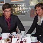 Alexander von Humboldt fesselt die Gesellschaft mit packenden Reiseschilderungen aus Südamerika