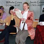 "Jacob Grimm eröffnet den literarischen Salon mit dem Märchen ""Le chapeau rouge"""