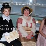 """Novalis, eigentlich Freiherr von Hardenbeck, ist der Schöpfer der """"Blauen Blume der Romantik"""""""