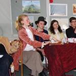 Die Gastgeber Wilhelm und Jacob Grimm