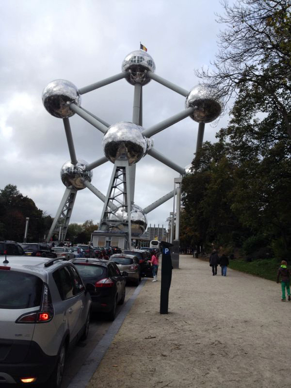 Bruxelles Atomium Jour