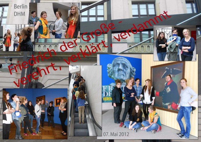 Schülerzeitung: Exkursion zum Alten Fritz