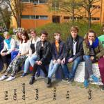 April 2014. Die Redaktion des Lenné-Überfliegers am Ende einer erfolgreichen und interessanten Projektwoche vom 31.03. bis 04.04. in Potsdam und Berlin.