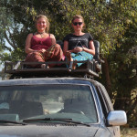 Hedwig und Helen im Nationalpark Benin